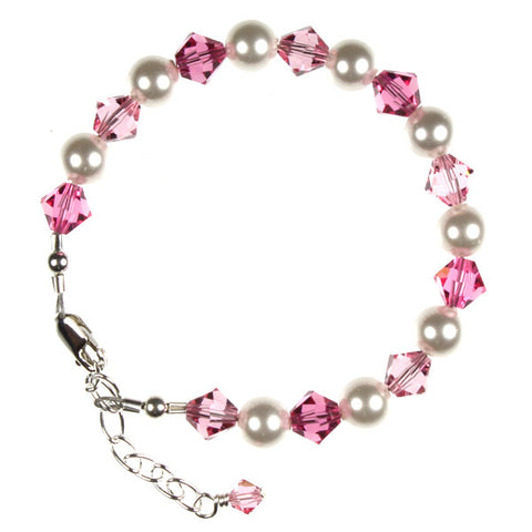 Pink Crystals & Pearls, Toddler
