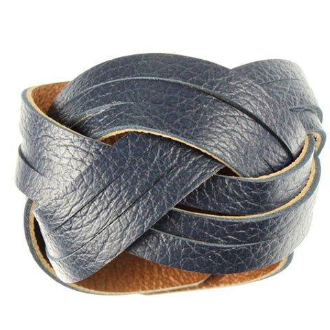 Cuff, Brown & Navy