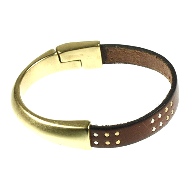Brown Stud Bangle, Single