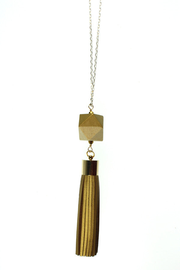 Gold Tassel, Gold Wood