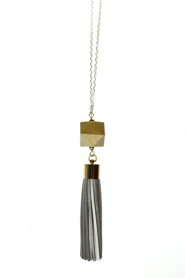 Silver Tassel, Gold Wood