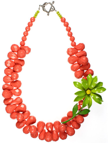 Coral, Lime Flower