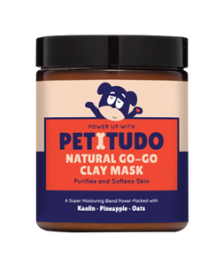 NATURAL GO-GO PET SPA Kit - Superfood Scrub (90G) +  Clay Mask (90G) + Shampoo for normal skin (250ml)