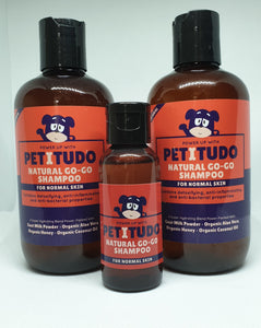 2 x NATURAL GO-GO Pet Shampoo 250ml PLUS FREE 50ml Bottles shampoo and FREE Delivery