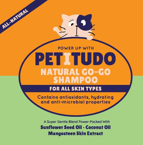 PETITUDO NATURAL GO-GO Cat Shampoo (250ml)