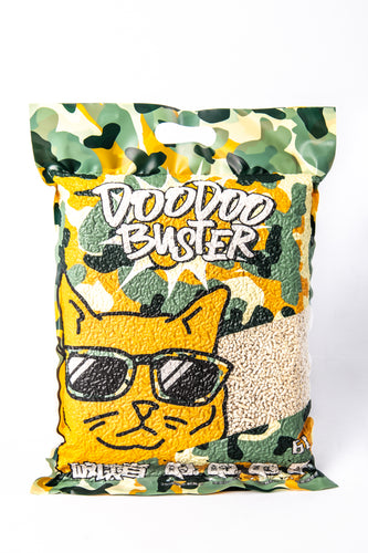 DOODOO BUSTER SOY CAT LITTER - DESTROYER 2KG/6L