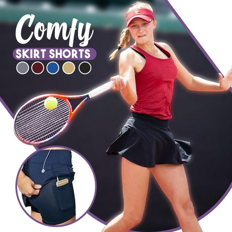 Dynamic™: Workout Pleated Skorts