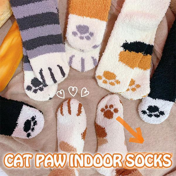 NPC™:Cozy Cat Paw Fleece Socks