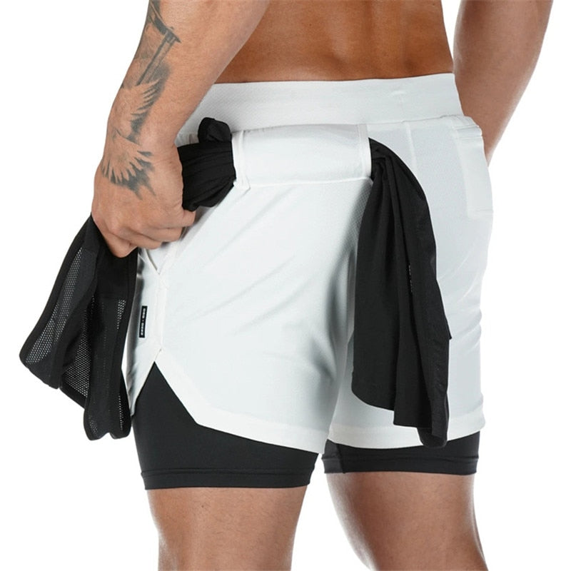 SportMan™: 2-in-1 Secure Pocket Shorts