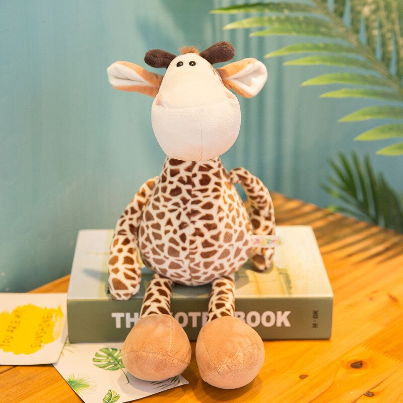 Toystory™: Forest Animals Toys (Giraffe, Elephant, Monkey, Lion, Tiger)