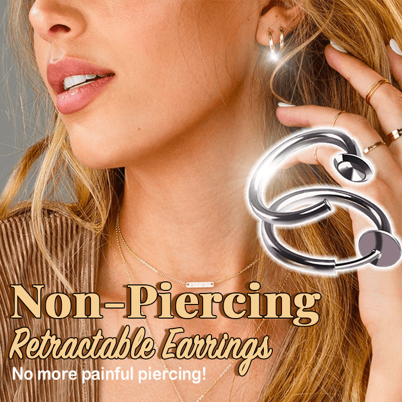 Misha™: Non-Piercing Retractable Earrings