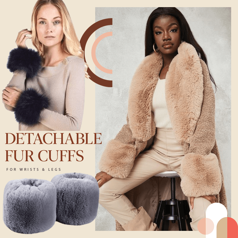 HAZEL™: Detachable Fur Cuffs