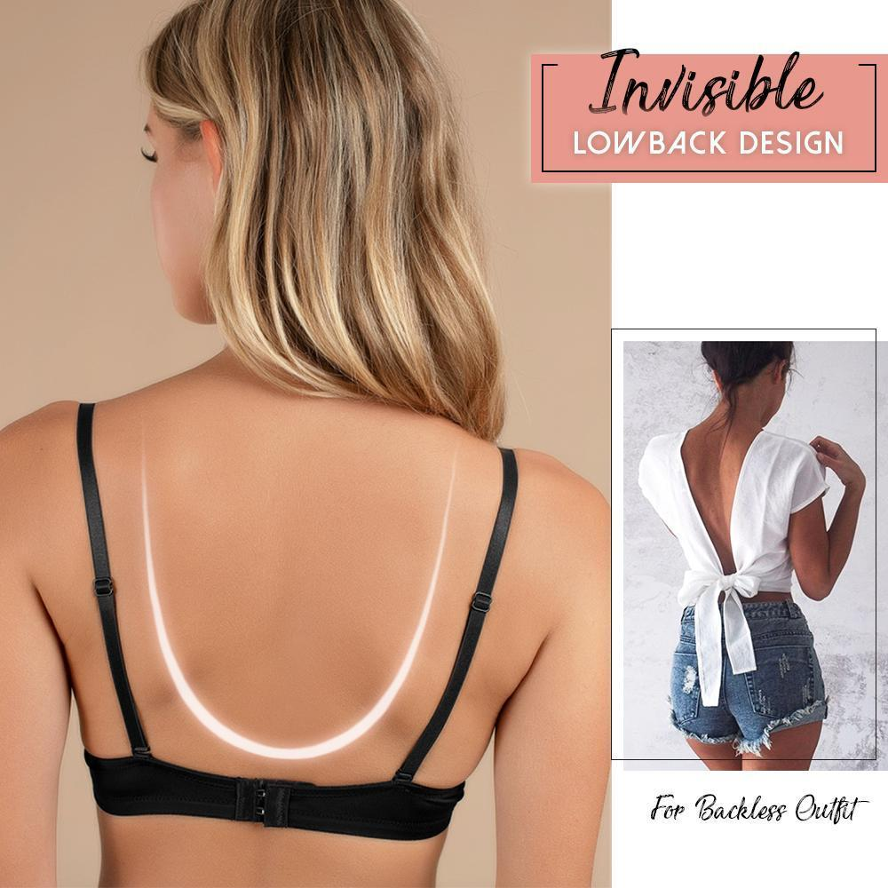 Bonnie™: LiftUp Low Back Plunge Bra