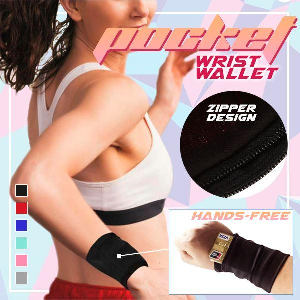 Simple™:  Light Multi-Use Pocket Wrist Wallet (55% OFF)