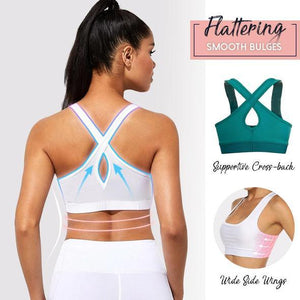 SPORTY™: Shape Seamless Crossback Sports Bra