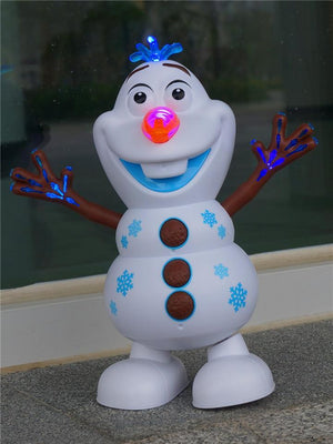 FrozenDance™: Electric Dancing Music Snowman & Princess Toy