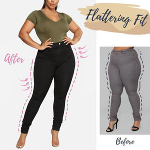 Berries™: Plus Size Perfect Fit Jeans Leggings