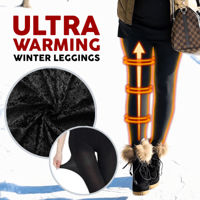 Molla™: Ultra Warming Winter Leggings - 50% OFF Today!