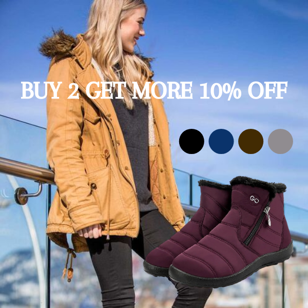 Chicago™: Women Waterproof Ankle Boots 2020