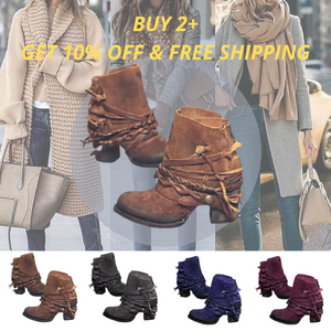 Amber™:2020 Women's Retro Comfortable Short Boots