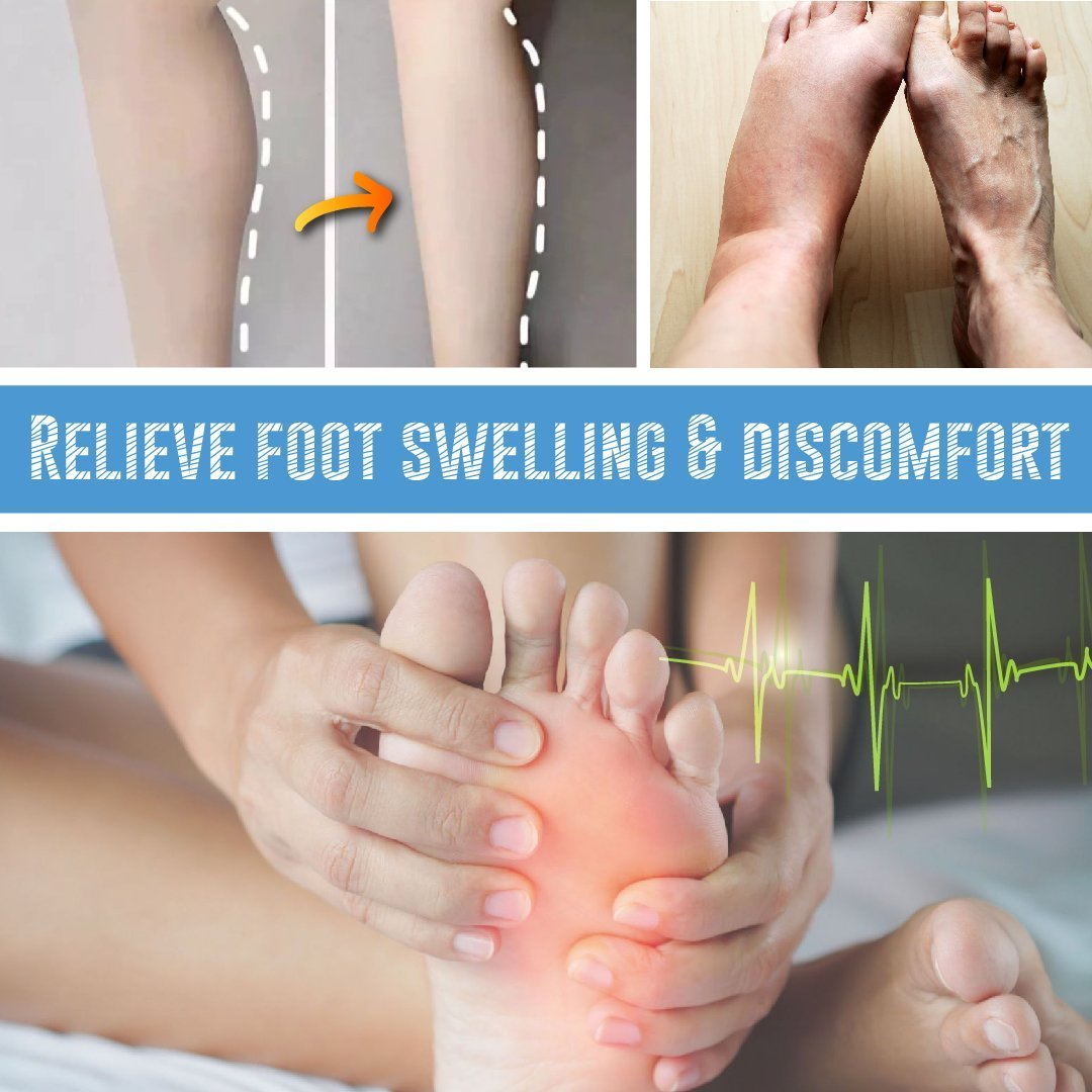 Reflexology™: EMS Leg Reshaping Foot Massager