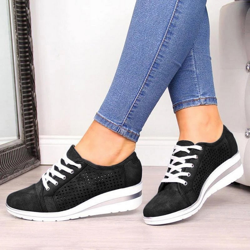 ActiveBrand ™:  Zipper Ladies Sneakers