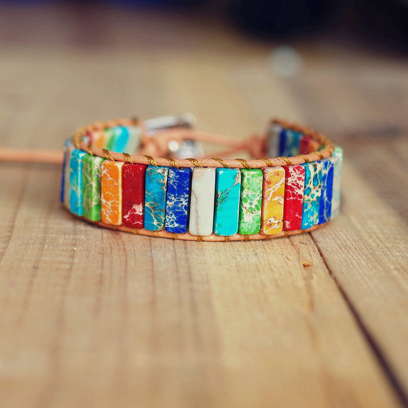 SUKI™: Color Burst Lucky and Positive Bracelet