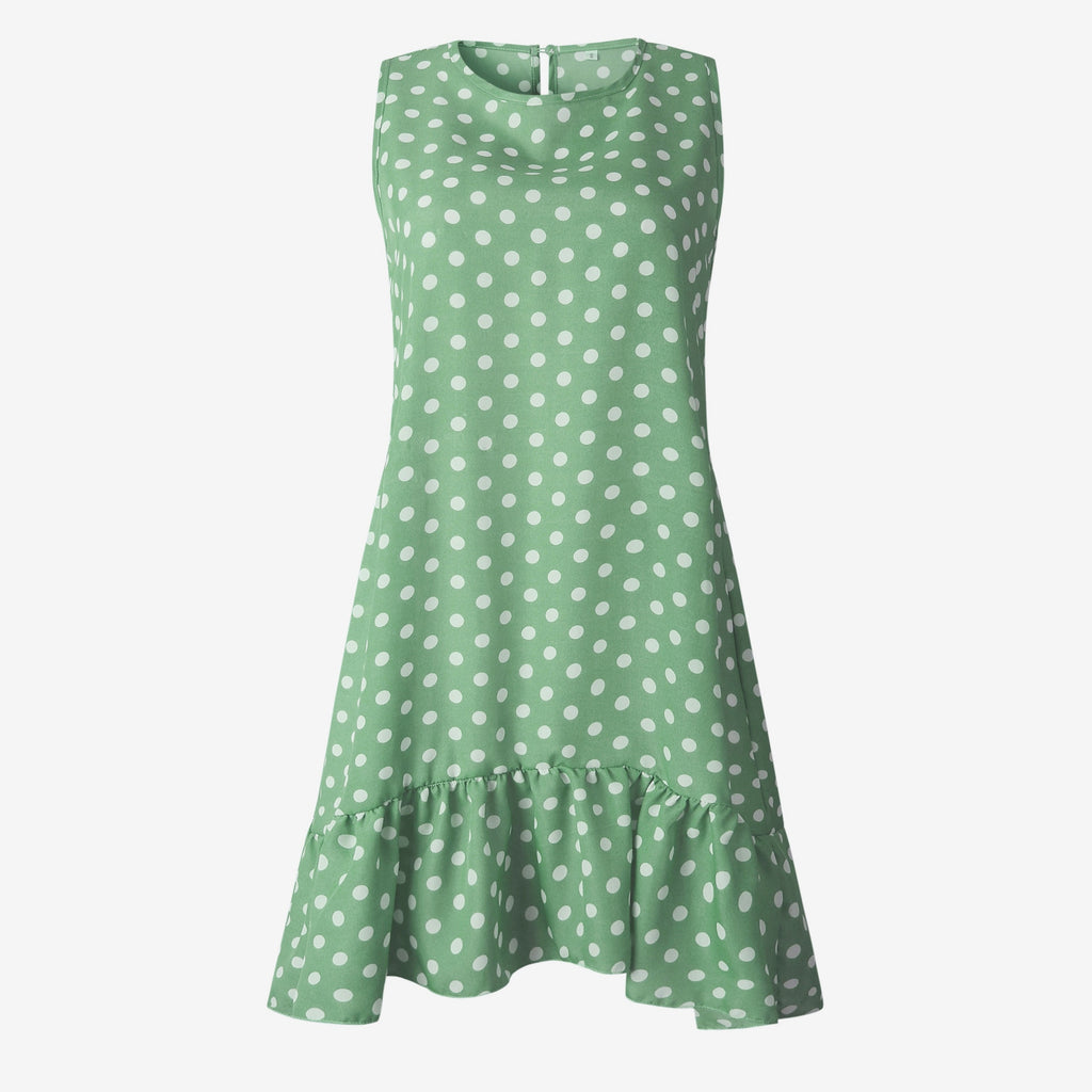 Lossky™: Summer Dress Polka Dot