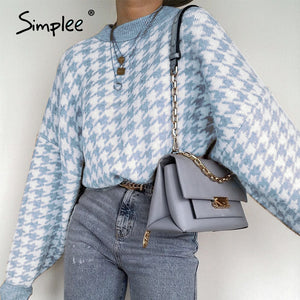 SimpleIt™: Retro pullover sweater