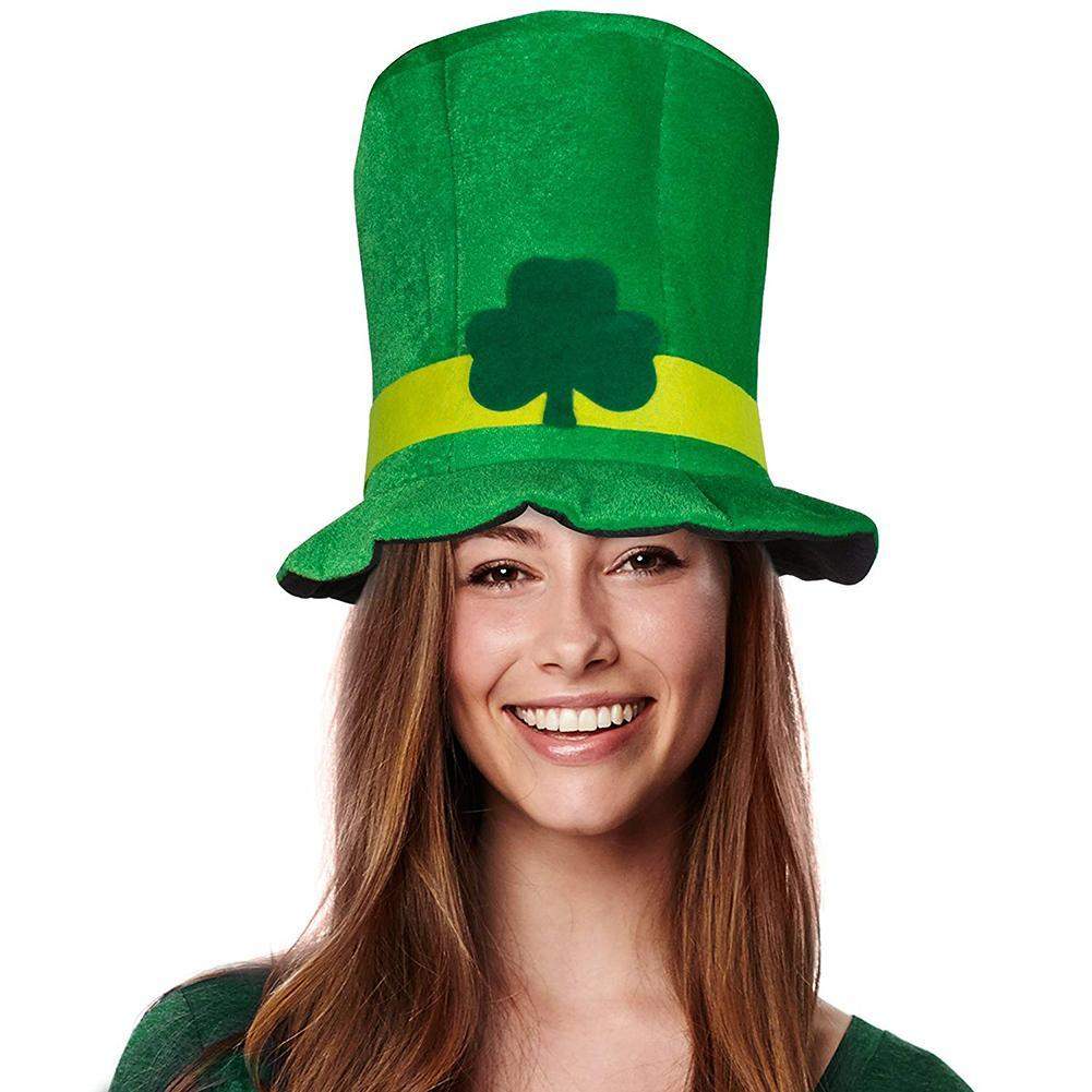 Krist™: Green Velvet High Top Party Hat