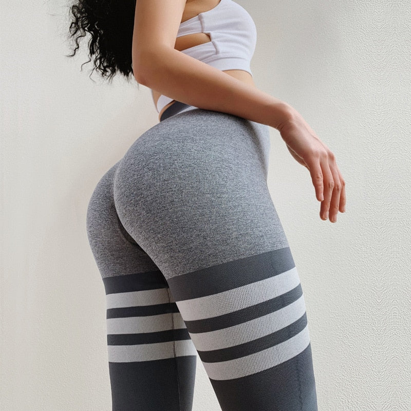 OvaSport™: Push Up 3 Lines Leggings
