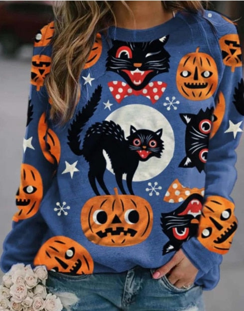 Tripple™: Hot Halloween Sweater