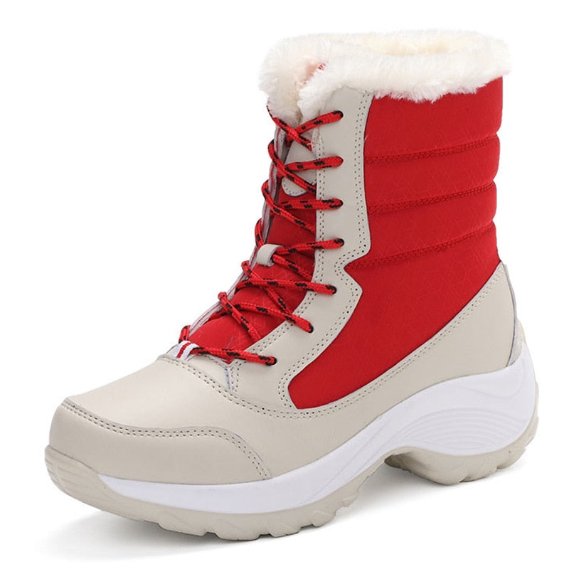 COSY™: Premium Leather Winter Carnival Snow Boot