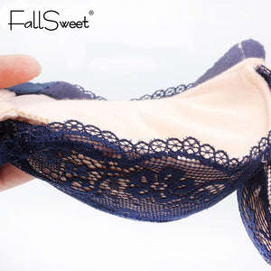 FallSweet ™: Lace Full-Coverage Bra