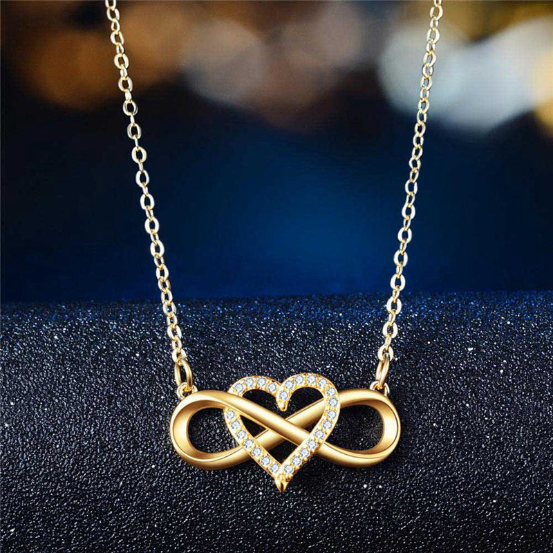 Jana™:  Infinity Heart Necklace
