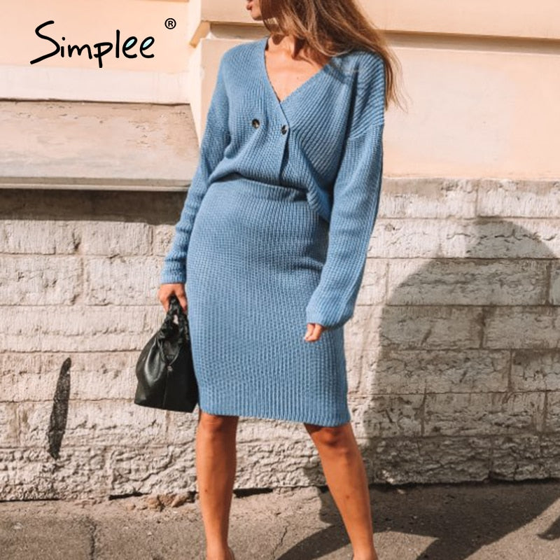 SimpleIt™: 2 pieces Elegant dress