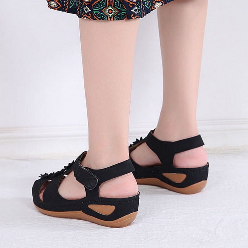 Mesheki™ : Casual Summer Non-Slip Flower Sandals