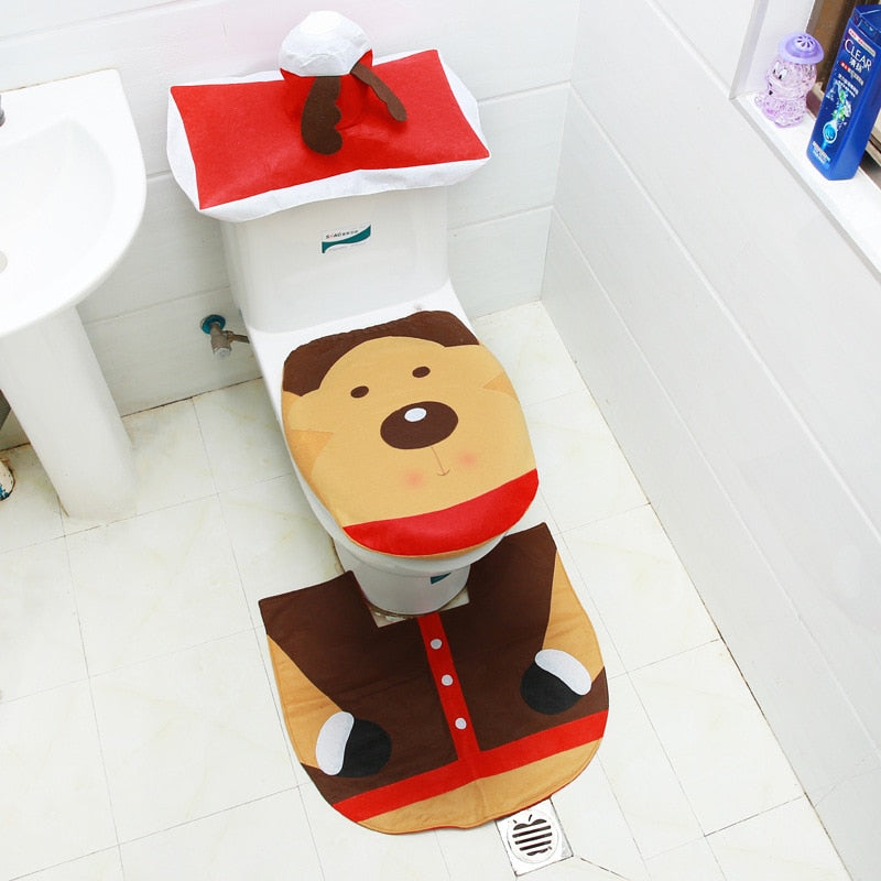 LovHome®: Christmas Toilet Cover