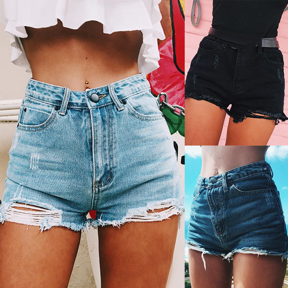 CaraJeans™: Summer High Waist Short