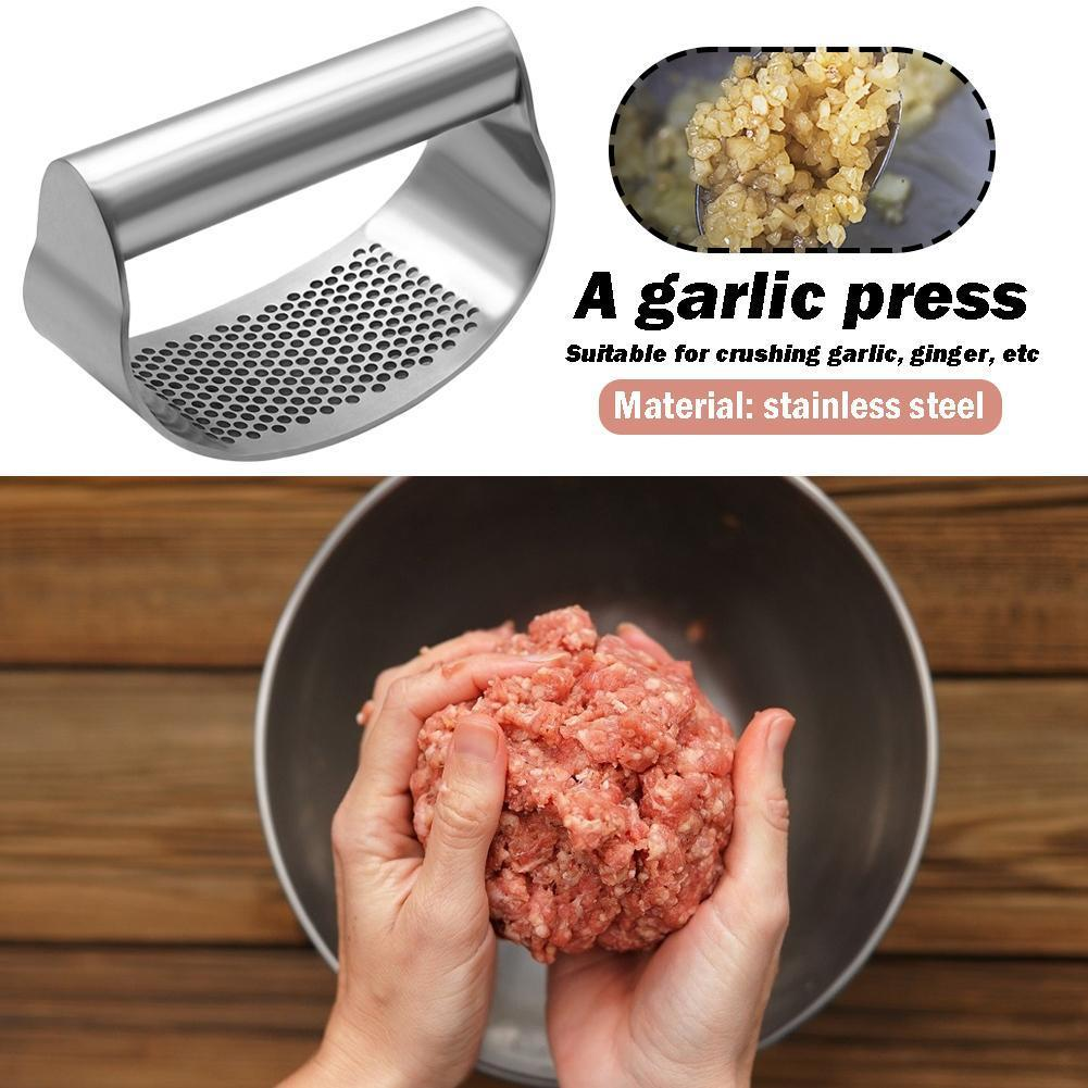 FANNKE™: Stainless steel garlic press
