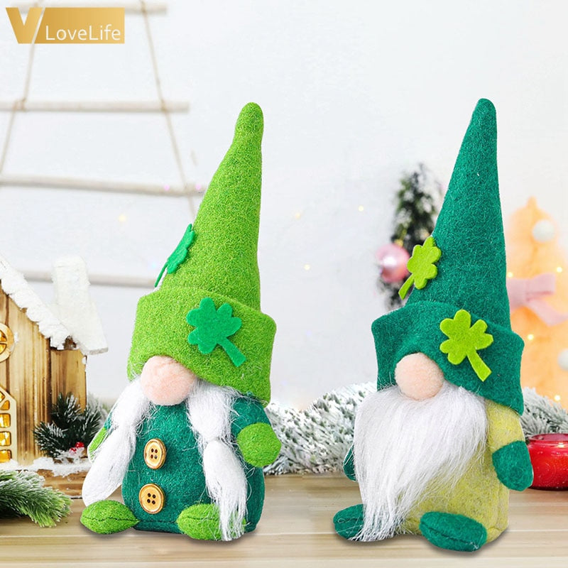 GGreen™: Gnome Faceless Plush Doll