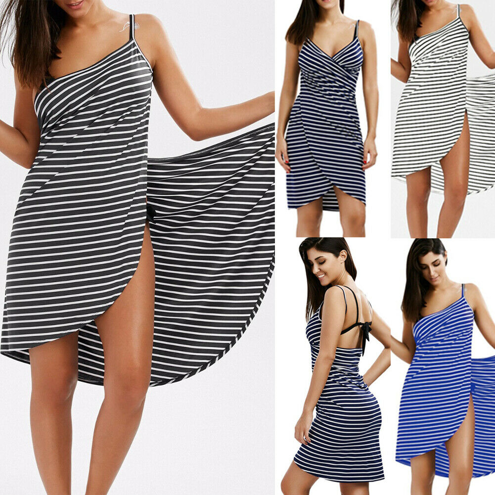 IVY™: Women Striped Towel Dress