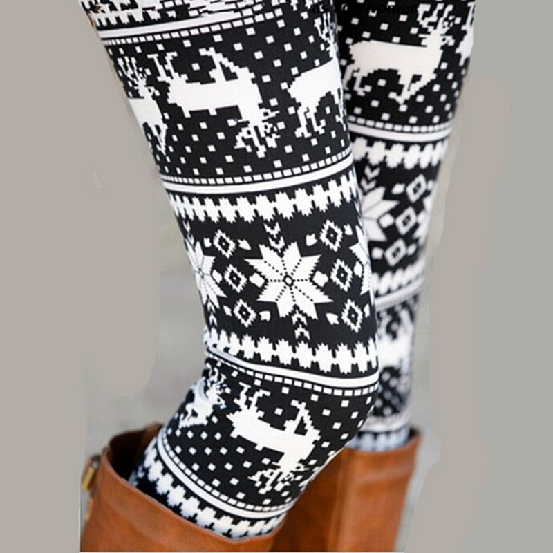 LILYTA™: Cozy Winter Ornate Leggings