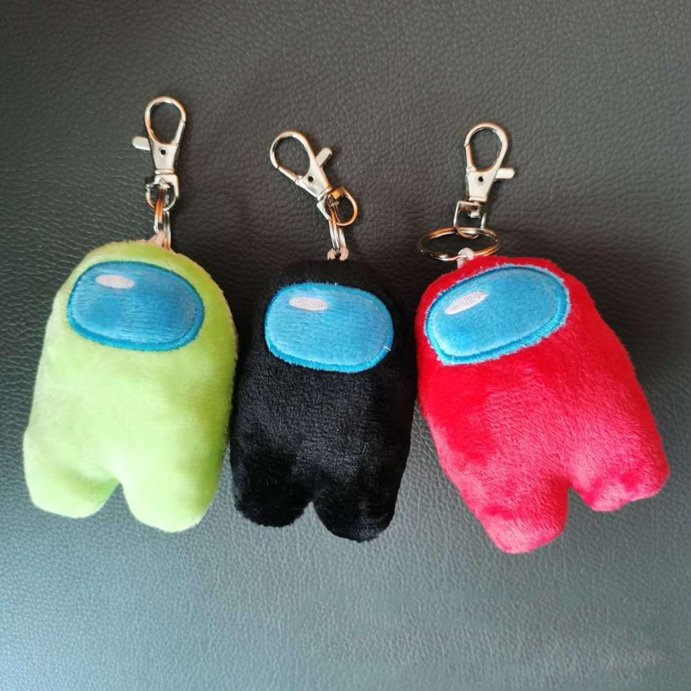 Coco™: Soft Plush Among Us Keychain