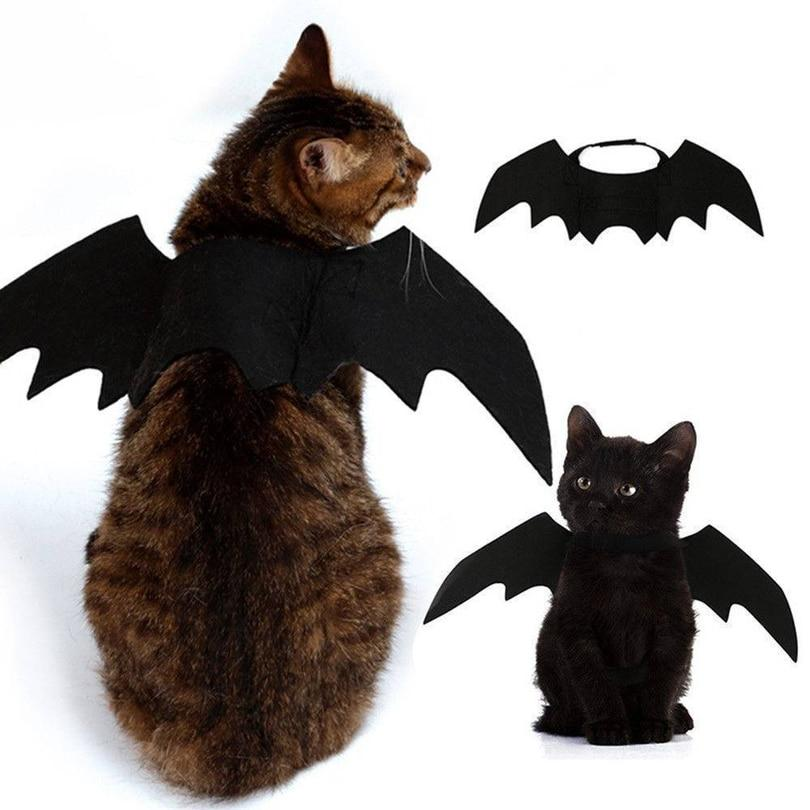 HALLOWEEN Cute Bat Wings & Neck Bows for Cats