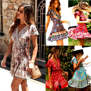 Tina™: Floral pattern dress