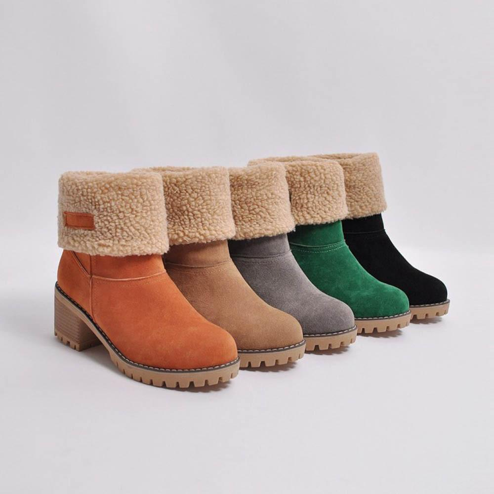 EzyBoots ™: Winter Fur Boots (BUY 2+ FREE SHIPPING)