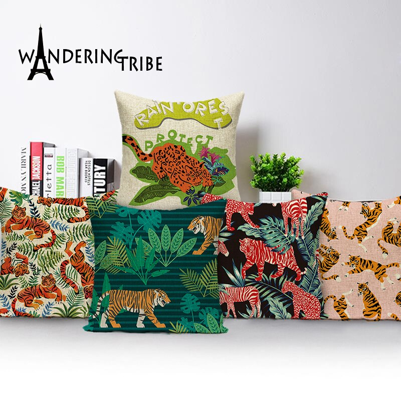 ActiveHome™: Jungle  Cushions Pillow Cover