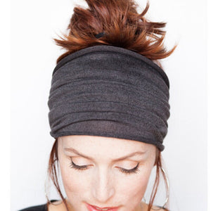 NaturalLife®: Yoga Head Wrap Soft Tube Scarf Hairband