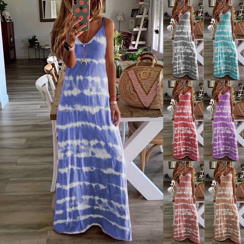 Puti™: Sexy Maxi Dress Beach Summer